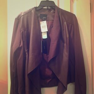 Faux leather jacket 🌸 NWT